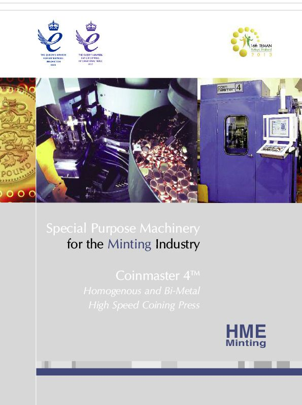Brochure - Product - HME Coinmaster