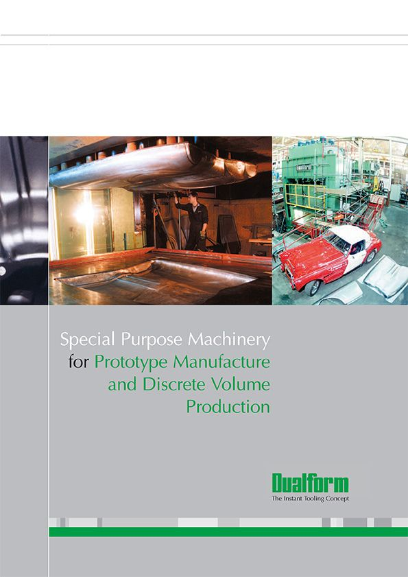 Special Purpose Machinery for Prototype Manufacture and Discrete Volume Production