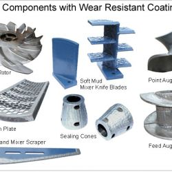 Hard Facing & Wear - Components with Wear Resistant Coating