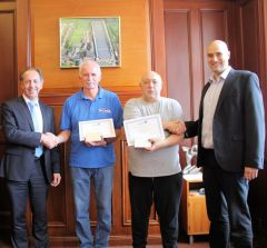 Group Rhodes commends employees for 50 years company service